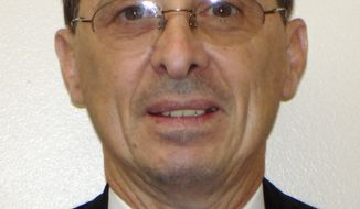 Kaufman County Assistant District Attorney Mark Hasse, 57, was shot and killed on Thursday, Jan. 31, 2013, in Kaufman, Texas. (AP Photo/Kaufman County Sheriff's Office)