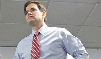 **FILE** Sen. Marco Rubio, Florida Republican (Associated Press)