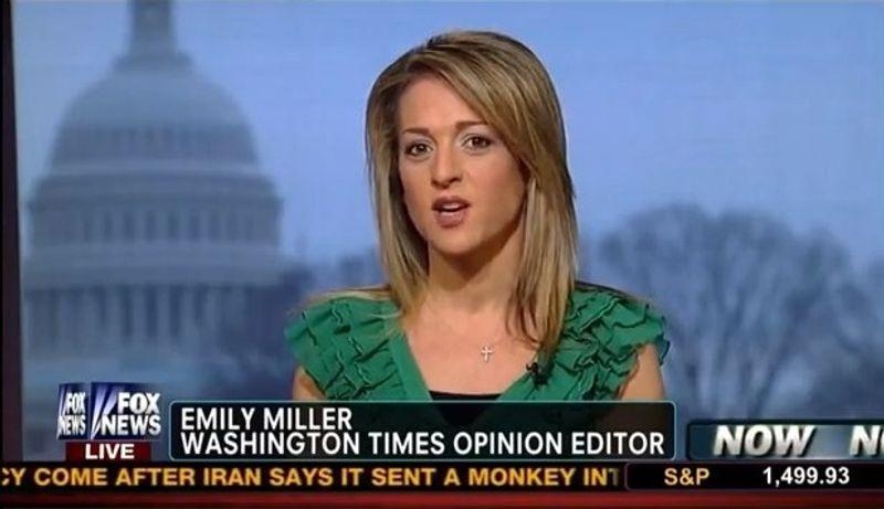 Emily Miller on Fox News. Feb. 4, 2013
