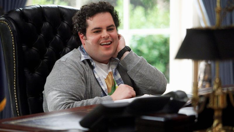 """Silliness prevails at the White House in """"1600 Penn"""" thanks to Josh Gad to a great extent. He plays the president's son. (NBC via Associated Press)"""