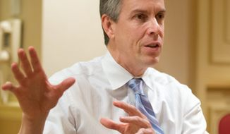 """My understanding is that the waivers [for No Child Left Behind] become obsolete"" if new federal education reforms go into effect, Education Secretary Arne Duncan told a Senate panel Thursday. (Associated Press)"
