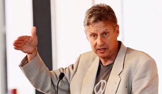 Gary E. Johnson, the 2012 Libertarian candidate for president. (Associated Press)