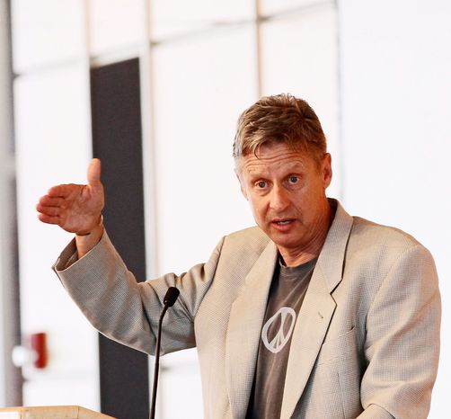 Gary E. Johnson, the 2012 Libertarian candidate for president. (Associated Press)