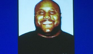 Former Los Angeles police Officer Christopher Jordan Dorner is shown in an image provided by the Irvine, Calif., Police Department via The Orange County Register. (AP Photo/Irvine Police Department via The Orange County Register)