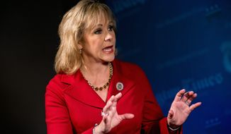 """Each state has its own unique needs. We have different budgets and revenue streams,"" said Oklahoma Gov. Mary Fallin. (Associated Press)"