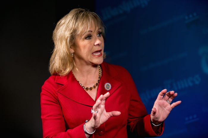 """""""Each state has its own unique needs. We have different budgets and revenue streams,"""" said Oklahoma Gov. Mary Fallin. (Associated Press)"""
