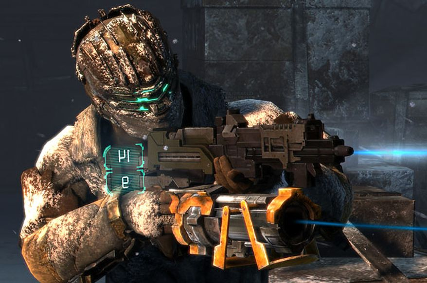 The video game Dead Space 3 features highly detailed weapons customization.