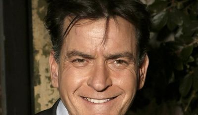 **FILE** Actor Charlie Sheen attends the FX Summer Comedies Party at Lure in Los Angeles on June 26, 2012. (Todd Williamson/Invision/Associated Press)
