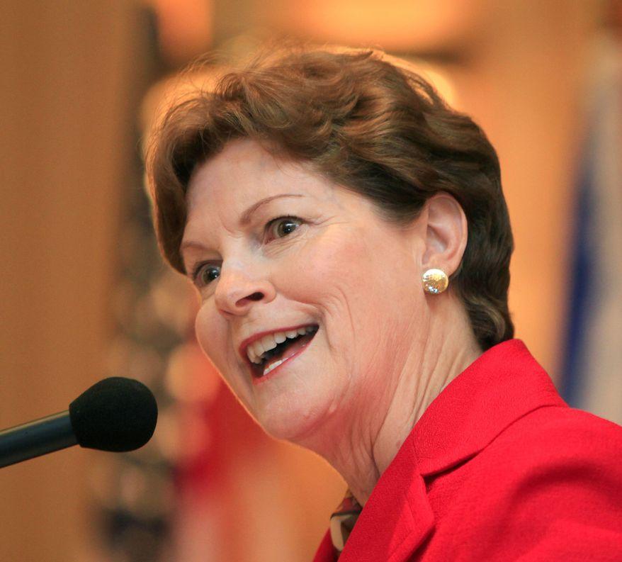 **FILE** Sen. Jeanne Shaheen, New Hampshire Democrat (Associated Press)