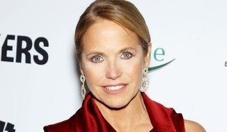 "TV personality Katie Couric attends the premiere of ""Makers: Women Who Make America"" at Alice Tully Hall at Lincoln Center in New York on Feb. 6, 2013. (AP Photo/Starpix, Marion Curtis) ** FILE **"