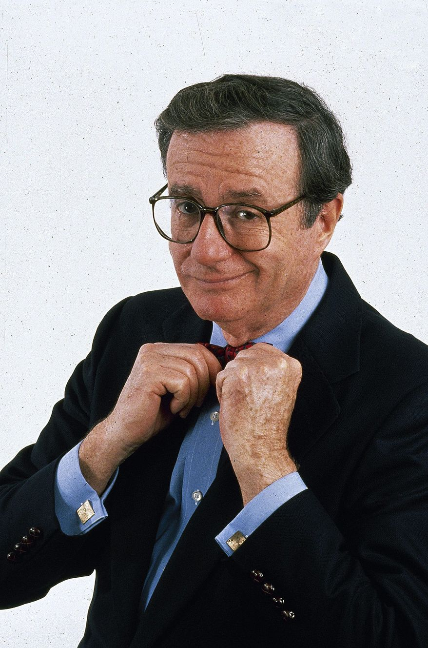 **FILE** Political humorist Mark Russell (Associated Press/PBS)