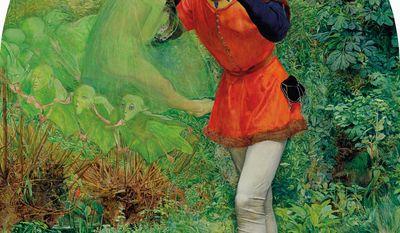 """""""Ferdinand Lured by Ariel"""" (Bridgeman Art Library)"""