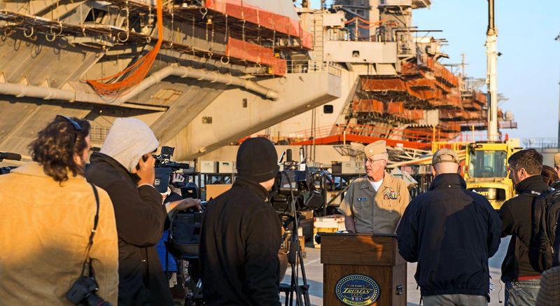 **FILE** USS Harry S. Truman. (U.S. Navy)