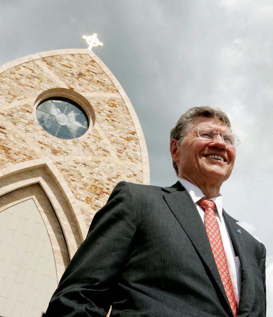 Thomas Monaghan founded Ave Maria University near Naples, Fla., which has been granted flexibility from the Obama administration in regards to contraceptive insurance coverage. (Associated Press)