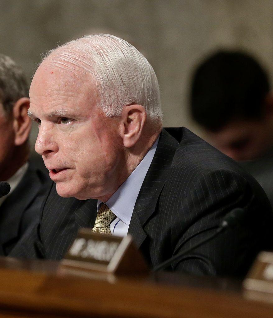 John McCain (Associated Press)