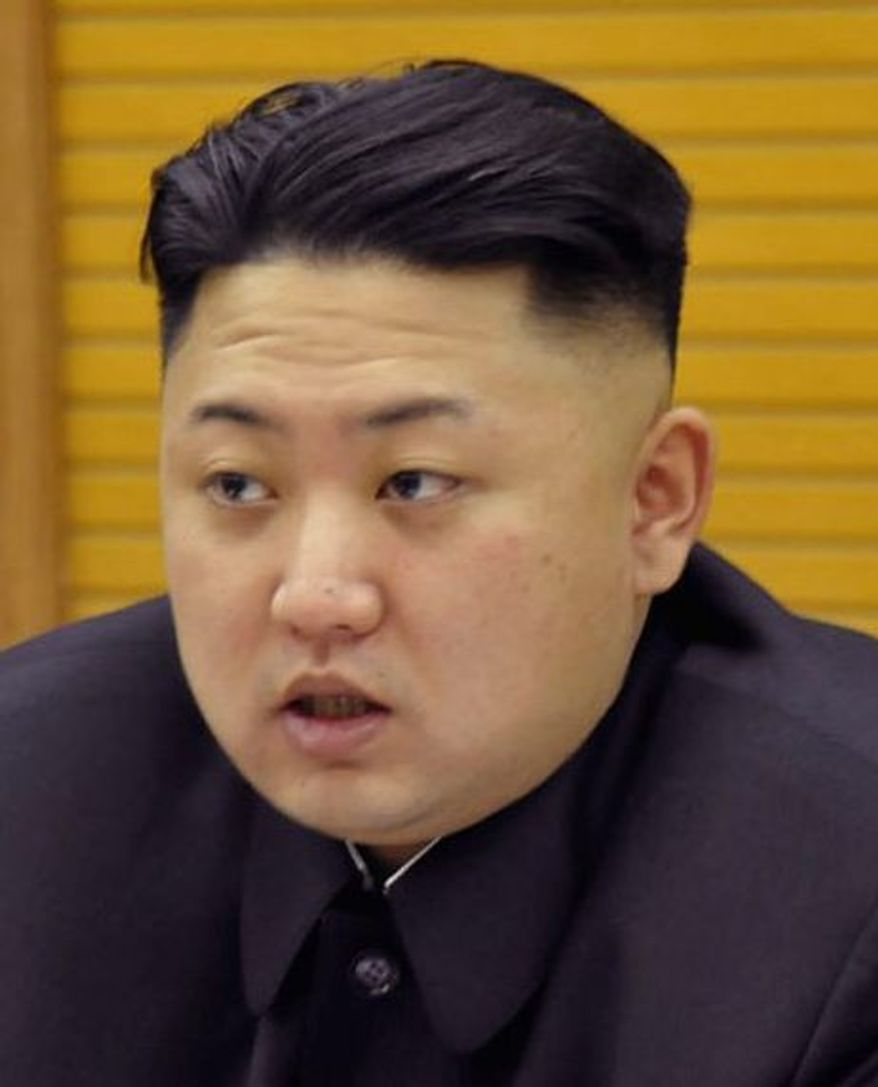 **FILE** North Korean leader Kim Jong-un (Associated Press)