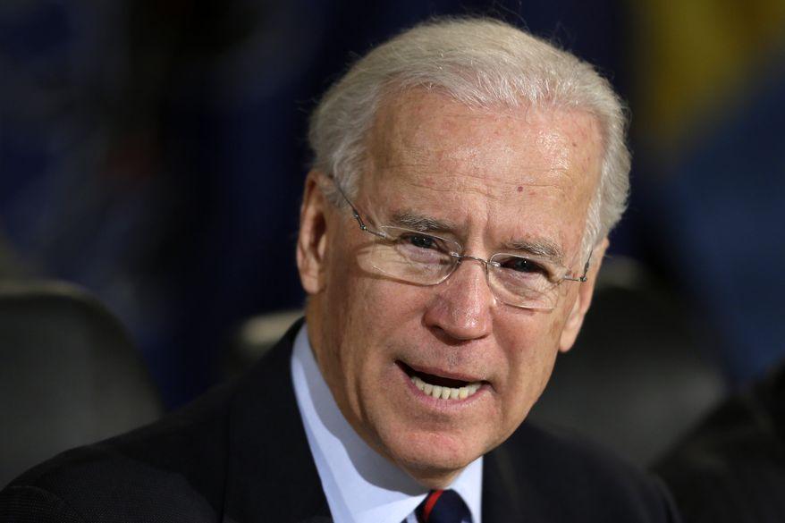 Vice President Joseph R. Biden (AP Photo/Matt Rourke)