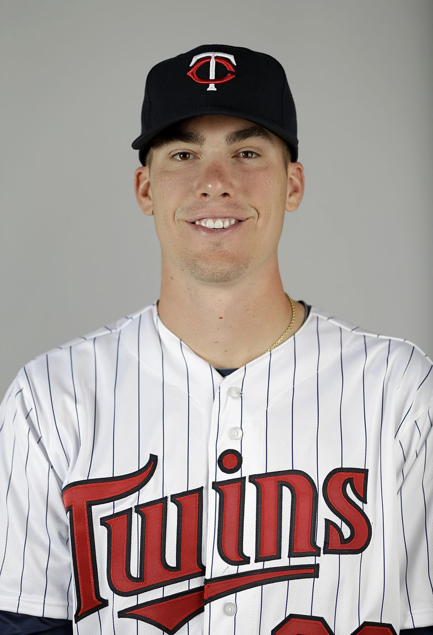 This is a 2013 photo of Alex Meyer of the Minnesota Twins baseball team. This image reflects the Minnesota Twins active roster as of Tuesday, Feb. 19, 2013, when this image was taken in Fort Myers, Fla. (AP Photo/David Goldman)