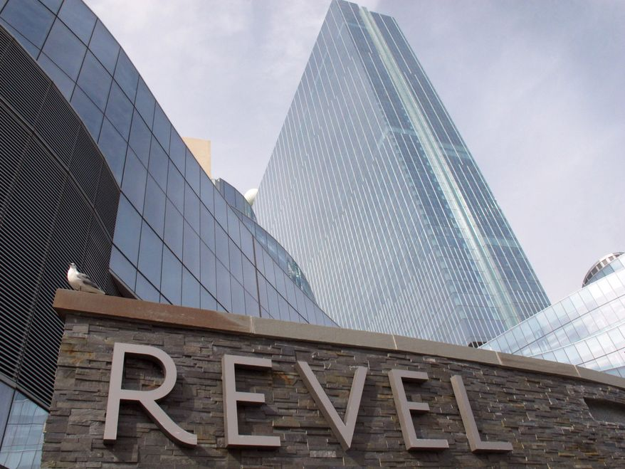 Revel, the casino that many people had hoped would turn around Atlantic City, N.J.'s sagging fortunes, on Tuesday, Feb. 19, 2013, said it will file for Chapter 11 bankruptcy protection in March, less than a year after the casino opened. (AP Photo/Wayne Parry)