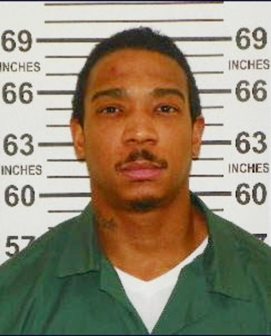 Jeffrey Atkins, aka the rapper Ja Rule, served 20 months of a two-year state sentence for gun possession at the Mid-State Correctional Facility in Marcy, N.Y., and was released directly into federal custody on Thursday, Feb. 21, 2013, to serve a 28-month sentence for tax evasion. (AP Photo/New York State Department of Corrections and Community Supervision)