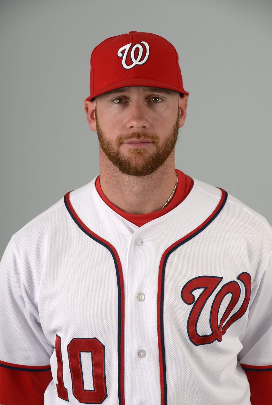 This is a 2013 photo of Corey Brown of the Washington Nationals baseball team. This image reflects the Nationals active roster as of Feb. 20, 2013 when this image was taken.(AP Photo/Phelan M. Ebenhack)