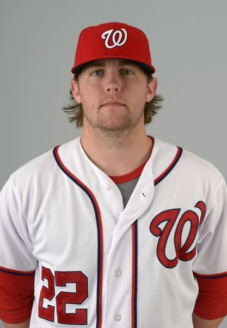 This is a 2013 photo of Drew Storen of the Washington Nationals baseball team. This image reflects the Nationals active roster as of Feb. 20, 2013 when this image was taken.(AP Photo/Phelan M. Ebenhack)