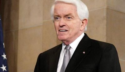 ** FILE ** Thomas J. Donohue, head of the U.S. Chamber of Commerce. (Associated Press)