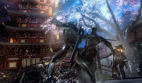 Raiden's battle cyborgs in the video game Metal Gear Rising: Revengeance.