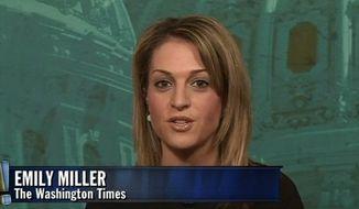 """Emily Miller on Blaze TV's """"Wilkow!"""" show. Feb. 19, 2013"""