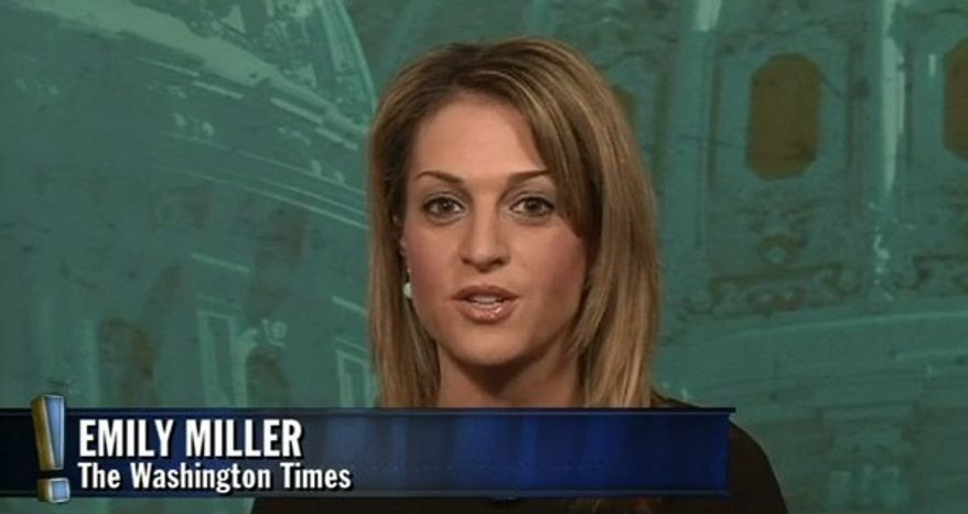 "Emily Miller on Blaze TV's ""Wilkow!"" show. Feb. 19, 2013"