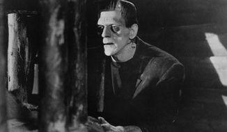 "Actor Boris Karloff in 1931's ""Frankenstein."" (Associated Press) ** FILE **"