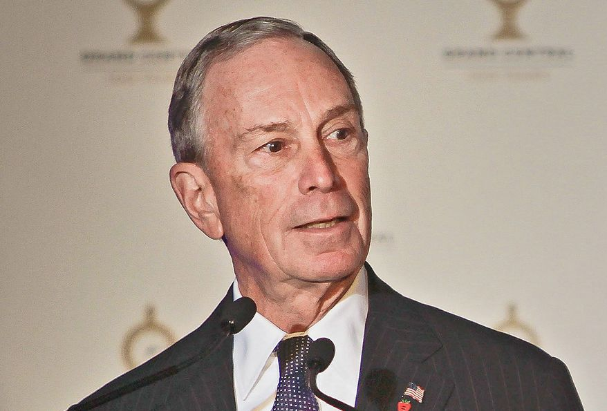 New York Mayor Michael R. Bloomberg (Associated Press)
