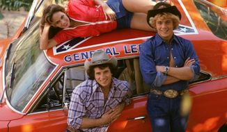 "** FILM ** A promo photo from the TV show ""The Dukes of Hazzard"" (Courtesy Warner Home Video)"