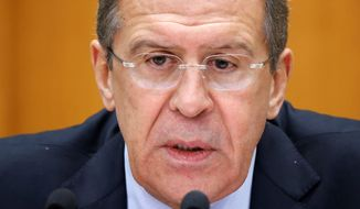 Russian Foreign Minister Sergey Lavrov meets with Secretary of State John F. Kerry this week, a discussion that could be dominated by the issue of Americans adopting Russian children. (Associated Press)
