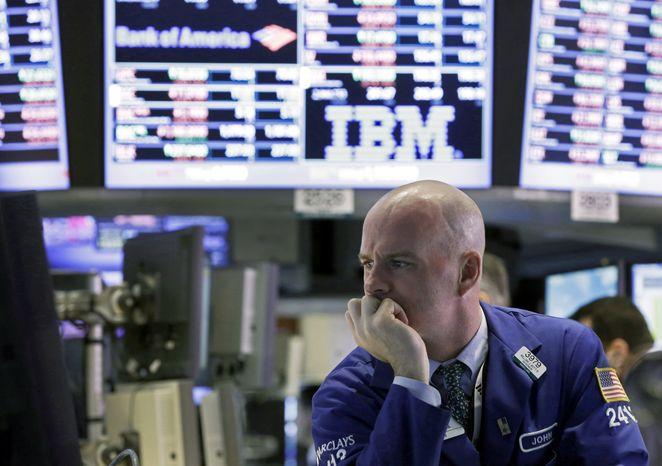 ** FILE ** The New York Stock Exchange, Feb. 25, 2013. (Associated Press)