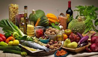 A Mediterranean diet with walnuts (PRNewsFoto/California Walnut Commission)