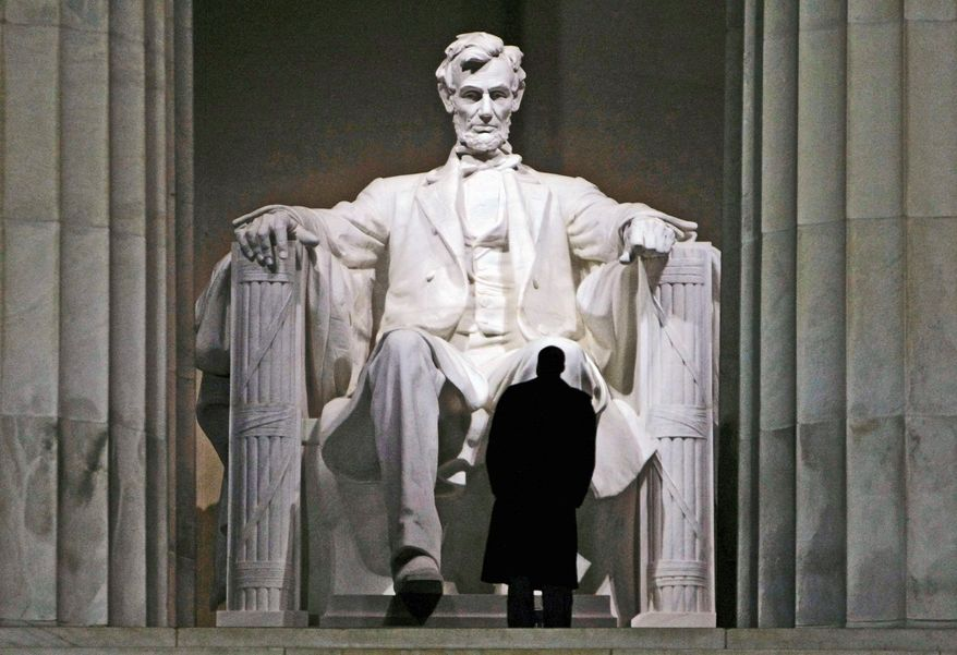 ** FILE ** The Lincoln Memorial on the Mall. (Associated Press)