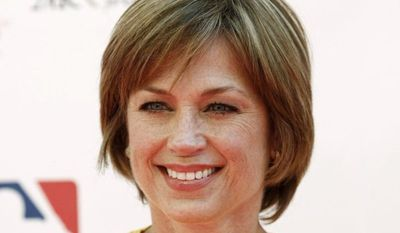 """** FILE ** Dorothy Hamill arrives at the """"Stand Up To Cancer"""" television event at Sony Studios in Culver City, Calif., on Friday, Sept. 10, 2010. (AP Photo/Matt Sayles)"""
