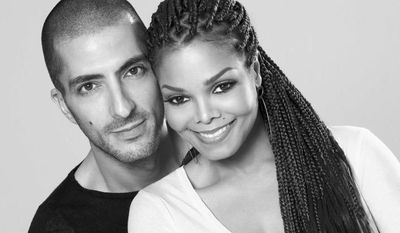 Singer Janet Jackson and businessman Wissam Al Mana are shown in a 2012 portrait. (AP Photo/Guttman Associates, Marco Glaviano)