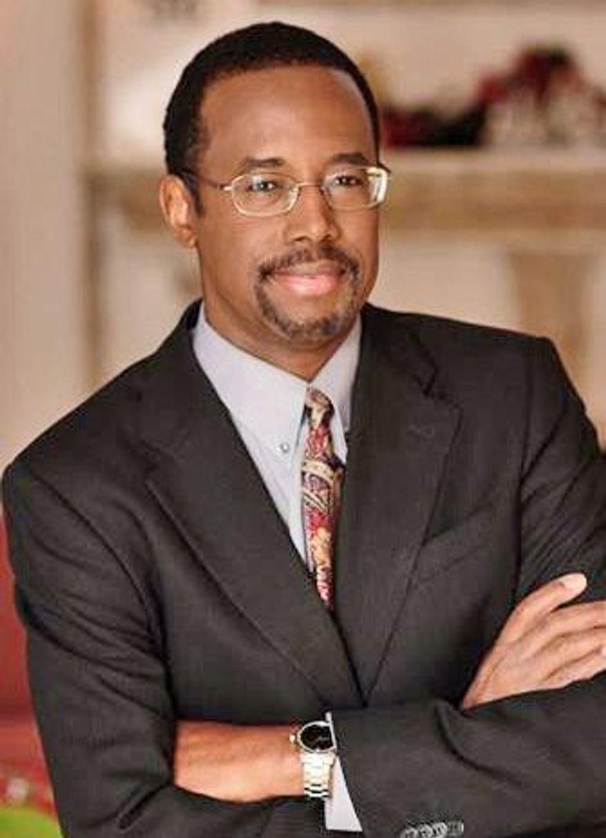 Dr. Ben S. Carson (Courtesy of Dr. Carson)