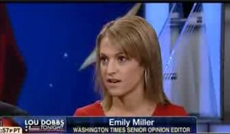 "Emily Miller on Fox Business Channel's ""Lou Dobbs Tonight"" on Feb. 27, 2013"