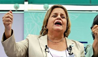 Republican Rep. Ileana Ros-Lehtinen of Florida. (Associated Press) ** FILE **