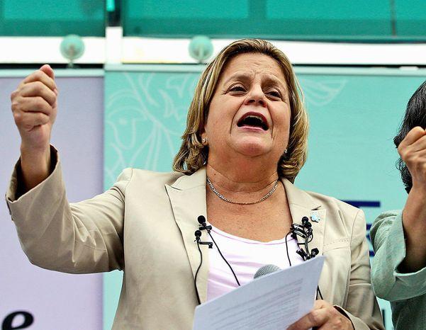 Republican Rep. Ileana Ros-Lehtinen of Florida. (Associated Press) ** FILE **
