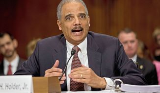** FILE ** Attorney General Eric H. Holder Jr. (Associated Press)