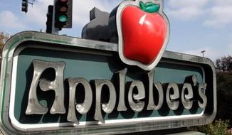Applebees (Associated Press) **FILE**