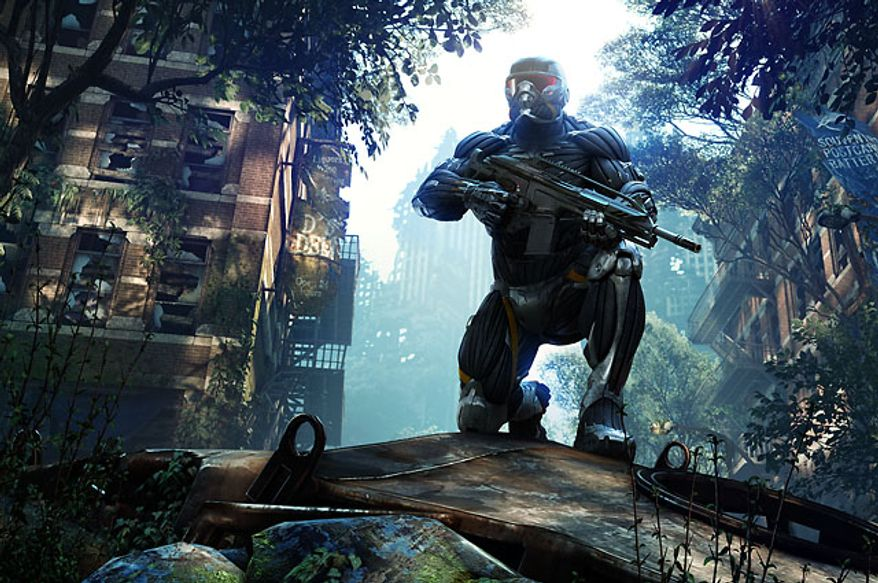 Prophet returns to a really green New York City in the video game Crysis 3.