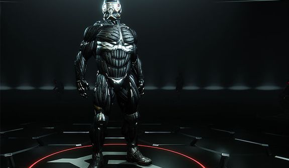 Meet the amazing Nanosuit from the first person shooter Crysis 3.