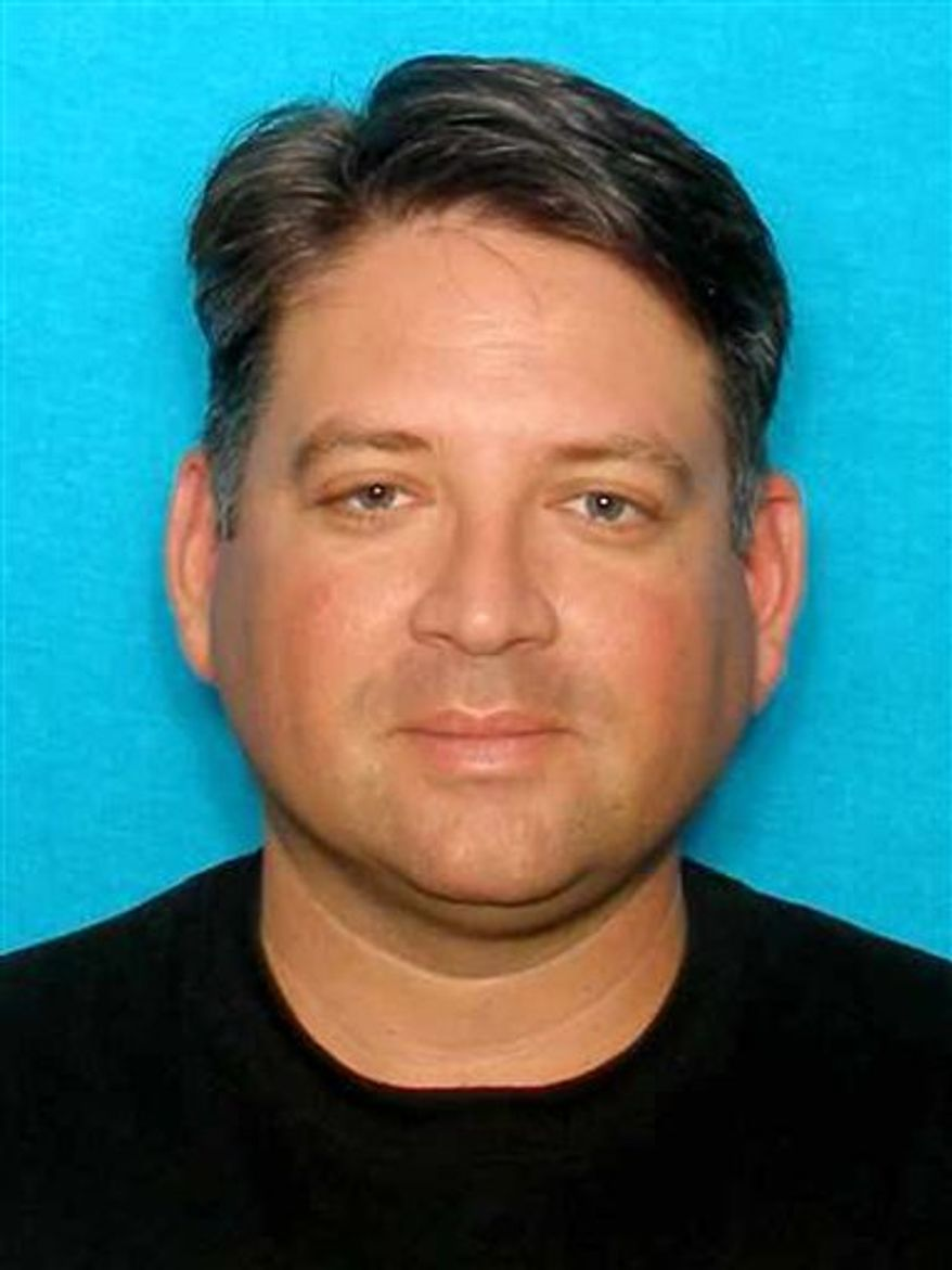 This undated image provided by the Whitefish, Mont., Police Department shows TV personality Gregory Rodriguez, who was shot and killed by Wayne Bengston, while Mr. Rodriguez was visiting Mr. Bengston's wife. Mr. Bengston later committed suicide. (AP Photo/Whitefish Police Department)
