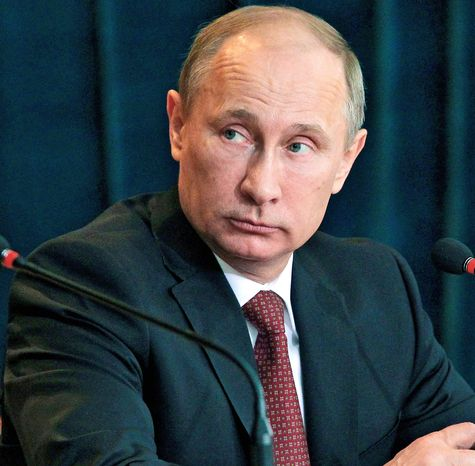 ** FILE ** Vladimir Putin has shown little interest in resetting Russian relations with the U.S. once again during his third term as president. (Ria Novosti via Associated Press)