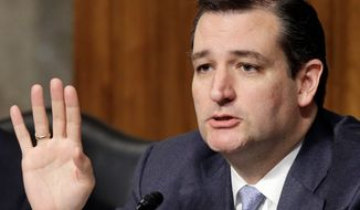 ** FILE ** Sen. Ted Cruz, Texas Republican. (Associated Press)